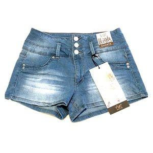 YMI High waist Denim Shorts